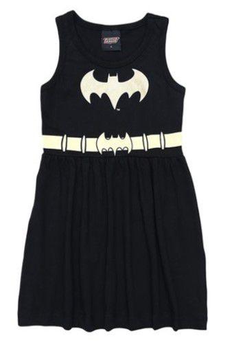Vestido da Batgirl - Liga da Justiça - Brandili
