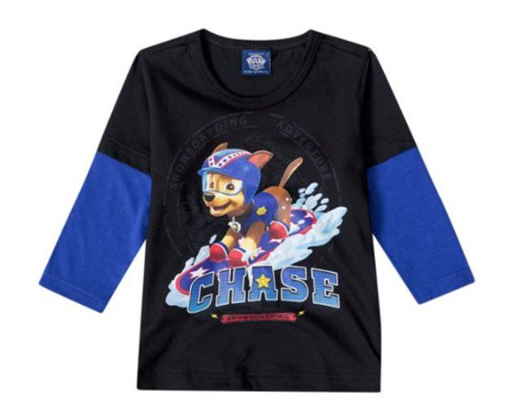Camiseta da Patrulha Canina - Chase - Malwee