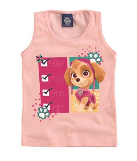 Blusa da Skye - Patrulha Canina - Rosa Claro - Malwee