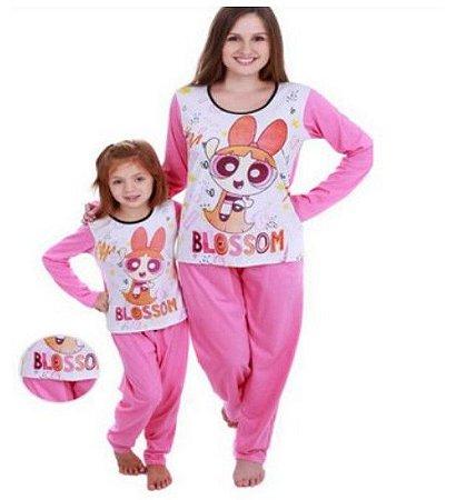 Pijama infantil Meninas Superpoderosas - Rosa