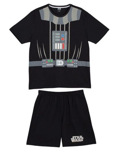 Pijama Infantil Star Wars Disney - Lupo - Preto