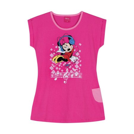 Camisola Minnie Rosa Pink - Disney  - Lupo