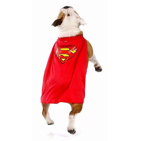 Capa Super Homem - Pet - Vermelha - Sulamericana