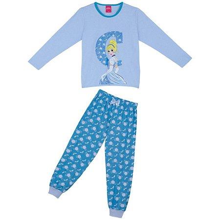 Pijama Princesa Cinderela - Disney - Lupo