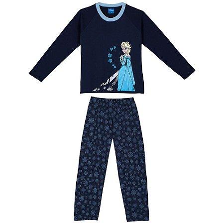 Pijama Rainha Elsa - Disney  Frozen - Lupo