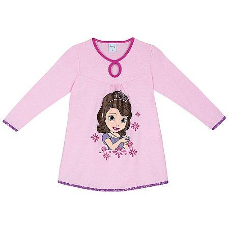 Camisola Infantil Princesa Sofia Disney - Lilás -Lupo