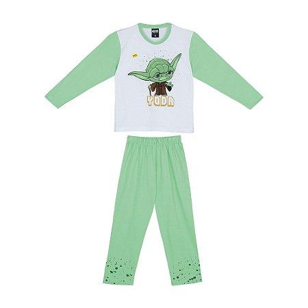 Pijama Star Wars Yoda - Disney - Lupo