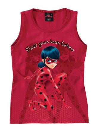Blusa Infantil Ladybug Vermelha - Malwee