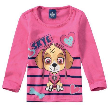 Blusa da Skye - Patrulha Canina - Malwee