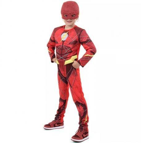 Fantasia Infantil do Flash - Vermelha
