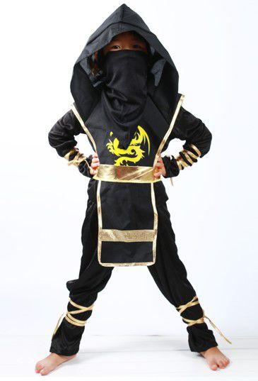 Fantasia de Ninja - Dourado