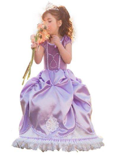 Fantasia de Luxo da Princesa Sofia