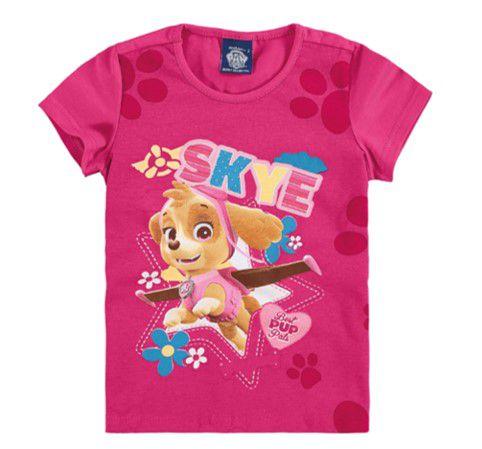 Blusa da Skye - Patrulha Canina - Pink - Malwee