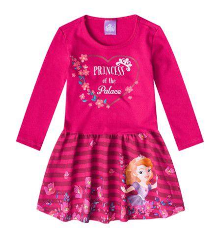 Vestido da Princesa Sofia - Pink - Malwee