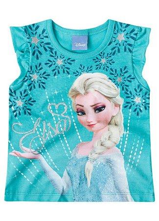 Blusa Elsa - Frozen Disney - Verde - Brandili
