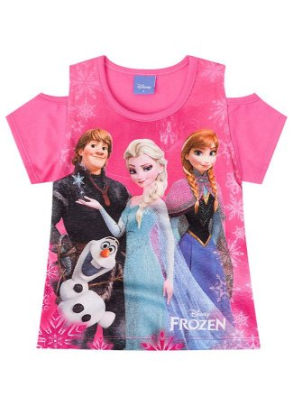 Blusa Frozen Disney - Pink