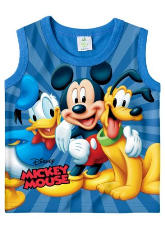 Regata Turma do Mickey - Azul - Disney Baby
