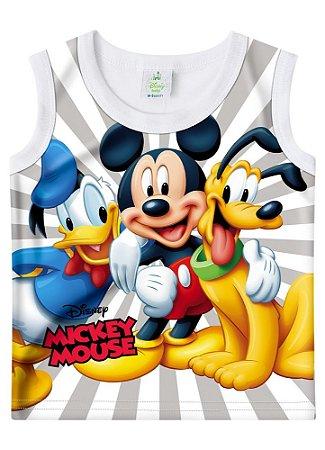 Regata Turma do Mickey - Branca - Disney Baby