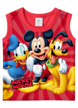 Regata Turma do Mickey - Vermelha - Disney Baby