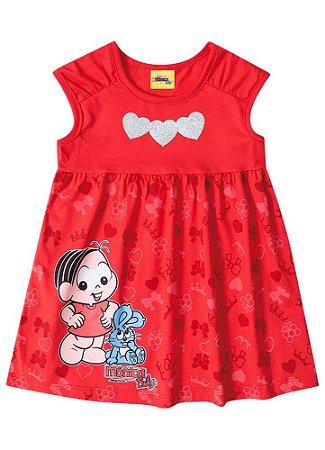 7d939d5bf Vestido Mônica Vermelho - AmoPersonagem
