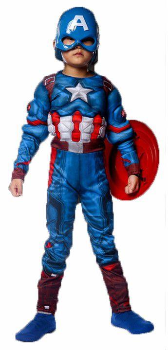 Fantasia Luxo do Capitão América