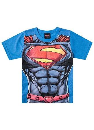 Camiseta Superman Músculos - Liga da Justiça