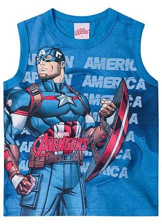 Regata do Capitão América - Avengers Azul