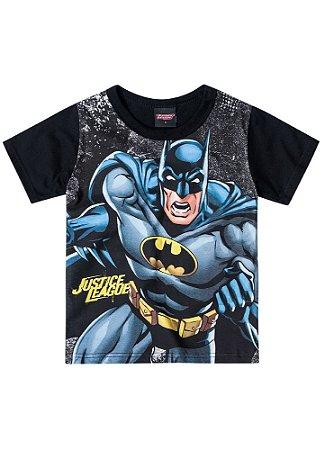 Camiseta Batman - Brilha no Escuro - Preta - Brandili