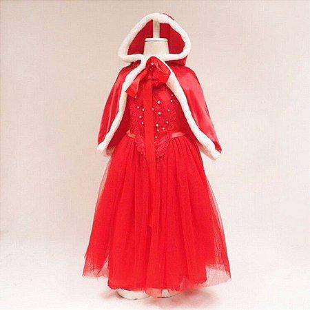 Fantasia de Luxo da Chapéuzinho Vermelho