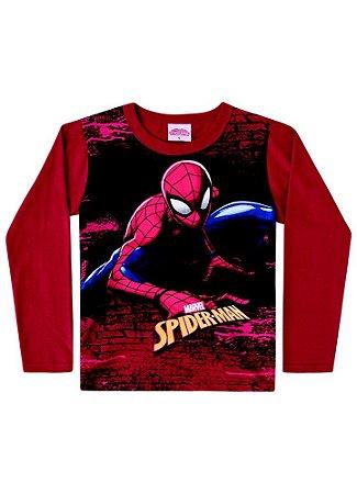 Camiseta do Homem Aranha - Vermelha - Marvel