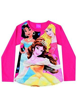 Blusa das Princesas - Disney - Cereja