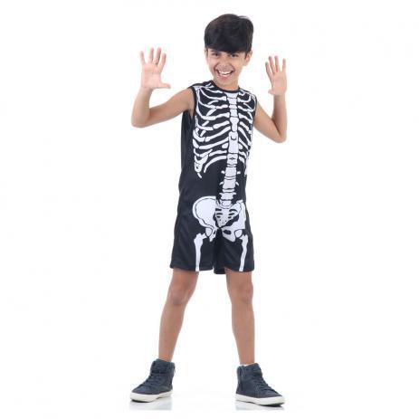 Fantasia de Esqueleto - Pop
