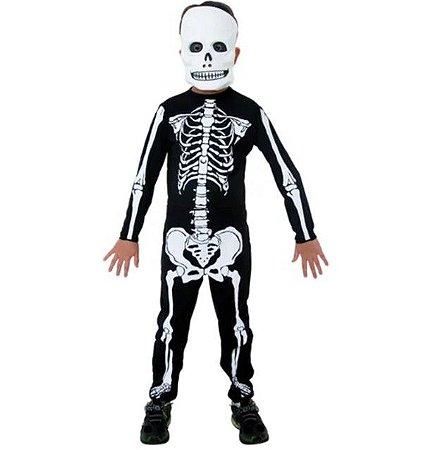 Fantasia do Esqueleto - Halloween