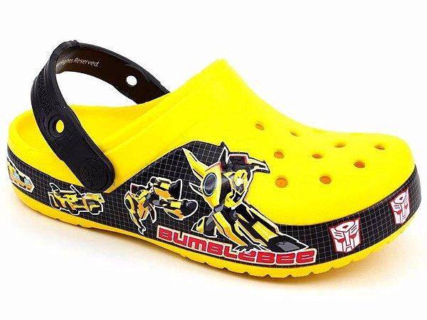 Crocs Transformers - Bumblebee - Amarelo