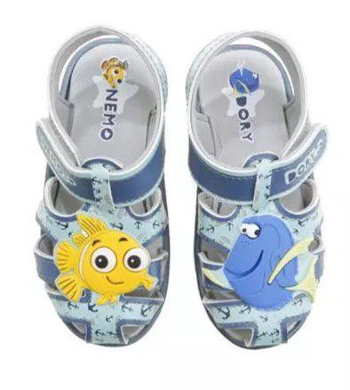 Sandália Nemo e Dory - Azul