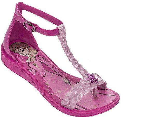 Sandália de Dedo - Disney Frozen - Rosa