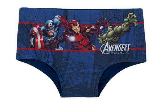 Sunga dos Avengers - Azul Marinho - Tiptop