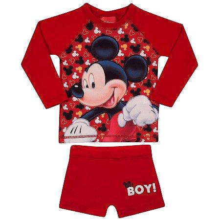 Conjunto Proteção UV 50 FPS  - Mickey - Disney