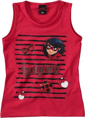 Blusa da Ladybug - Miraculous - Vermelha