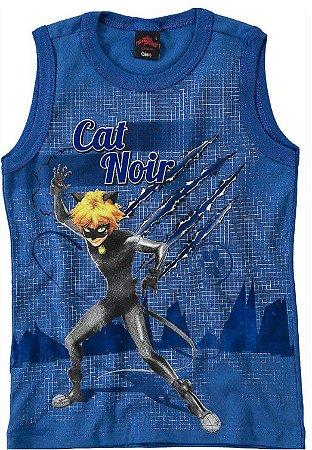 Regata do Cat Noir - Miraculous - Azul