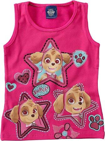 Blusa da Patrulha Canina - Skye - Rosa
