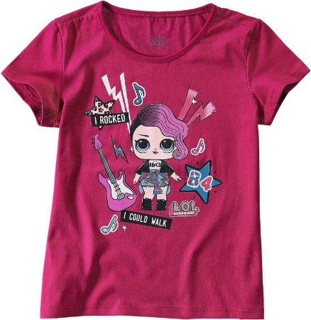 Blusa Infantil LOL Rosa - Malwee