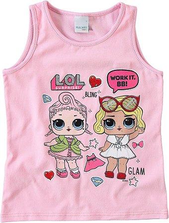 Blusa LOL Surprise - Rosa Claro - Malwee