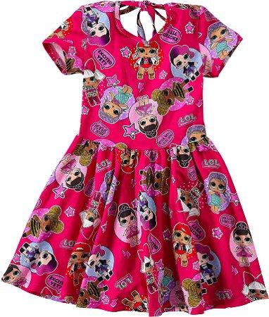 Vestido LOL Suprise - Rosa