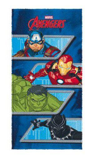 Toalha Felpuda dos Avengers