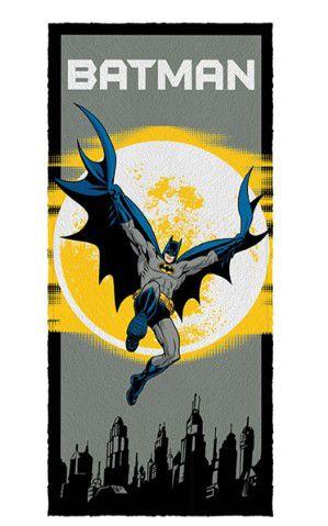 Toalha Felpuda do Batman - Gotham