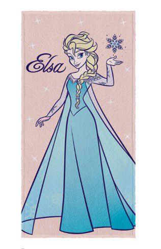 Toalha Felpuda da Rainha Elsa - Frozen