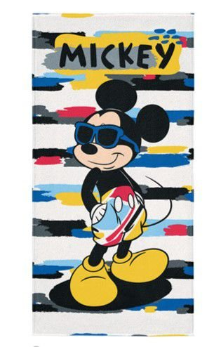 Toalha Aveludada Estampada Mickey - Disney