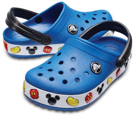 Crocs do Mickey - Azul - Estilo Crocband  Fashion