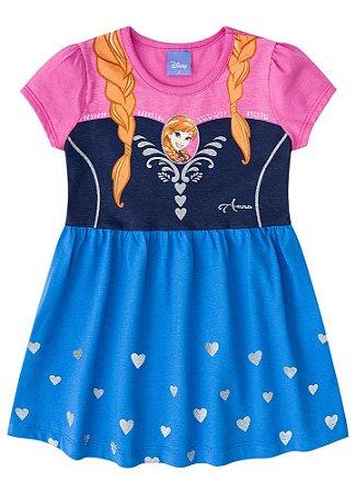 Vestido da Princesa Anna  - Disney  Frozen